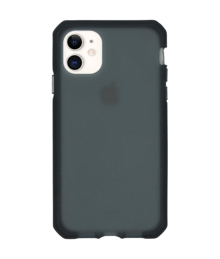 Itskins Supreme Frost Backcover iPhone 11 - Donkergrijs