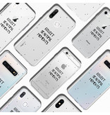 Design Backcover voor de iPhone 11 Pro Max - Quote