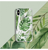 Design Backcover voor de iPhone 11 Pro Max - Monstera Leafs
