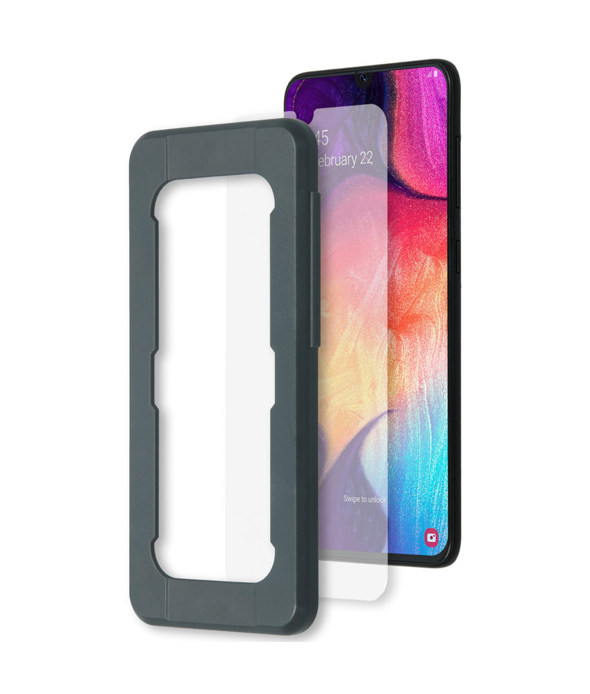 Accezz Glass Screenprotector + Applicator Samsung Galaxy A50