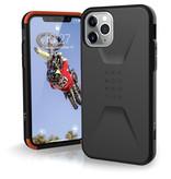 UAG Civilian Backcover voor de iPhone 11 Pro - Zwart