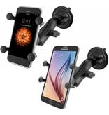 RAM Mounts X-Grip Telefoonhouder Auto met Twist-Lock Suction Cup
