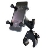 RAM Mounts X-Grip Telefoonhouder Fiets met Tough Claw Small Clamp Base