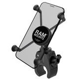 RAM Mounts X-Grip Telefoonhouder Fiets met Snap-Link Tough Claw