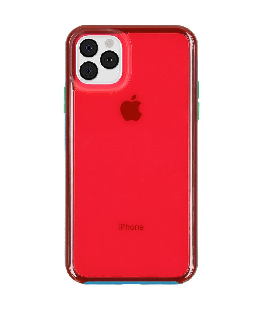 LifeProof Slam Backcover iPhone 11 Pro Max - Blauw / Roze