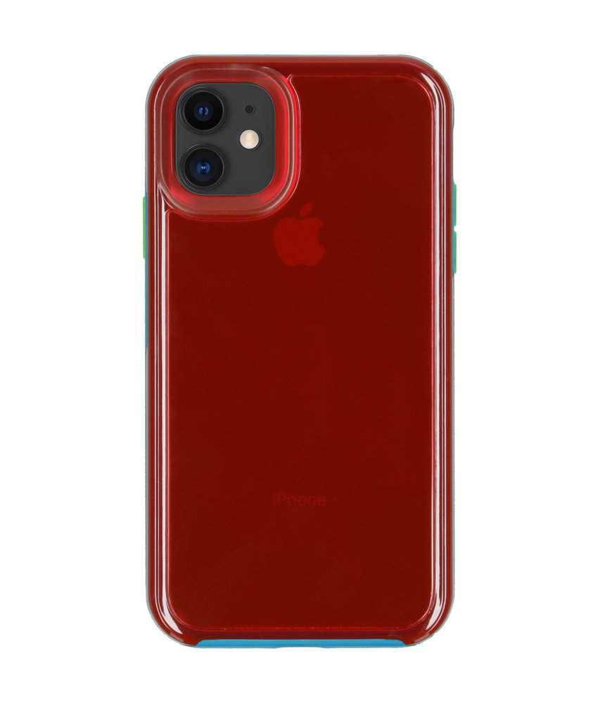 LifeProof Slam Backcover iPhone 11 - Blauw / Roze