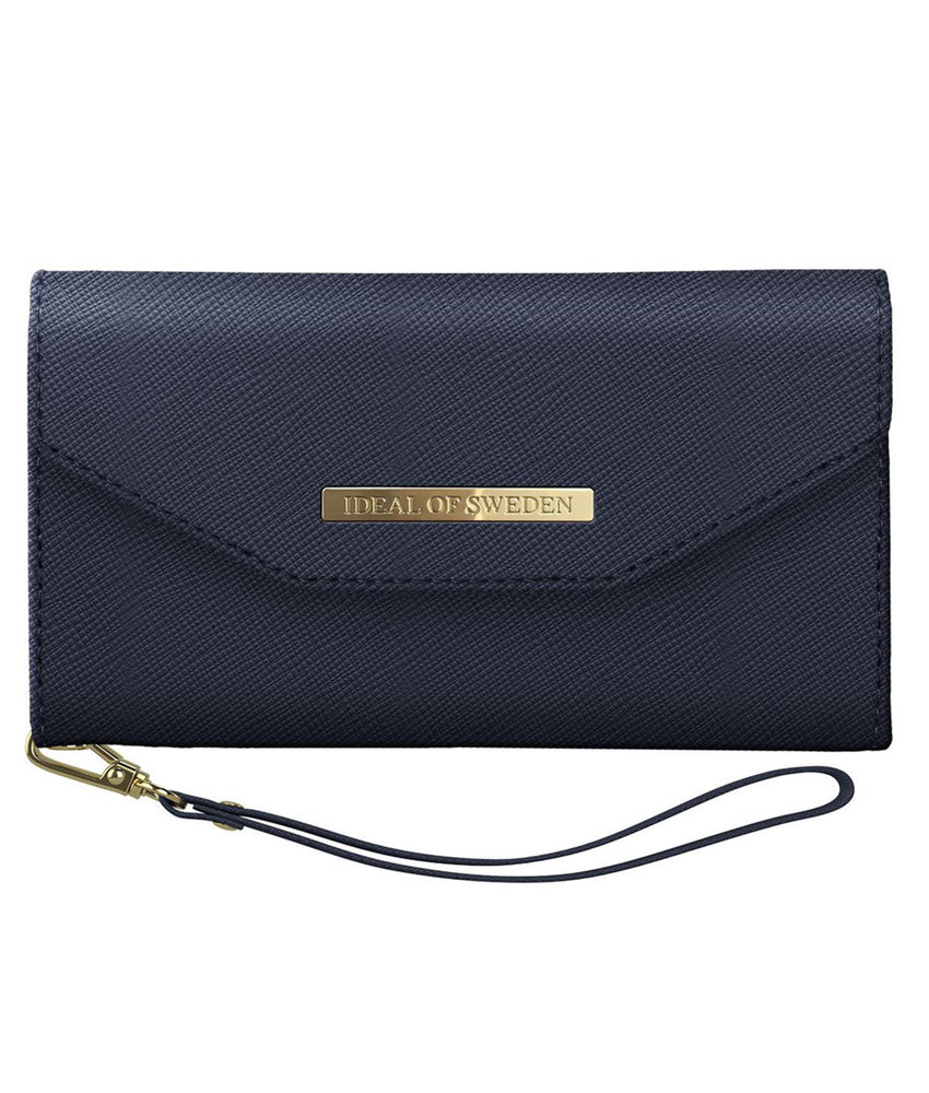iDeal of Sweden Mayfair Clutch iPhone 11 Pro - Donkerblauw