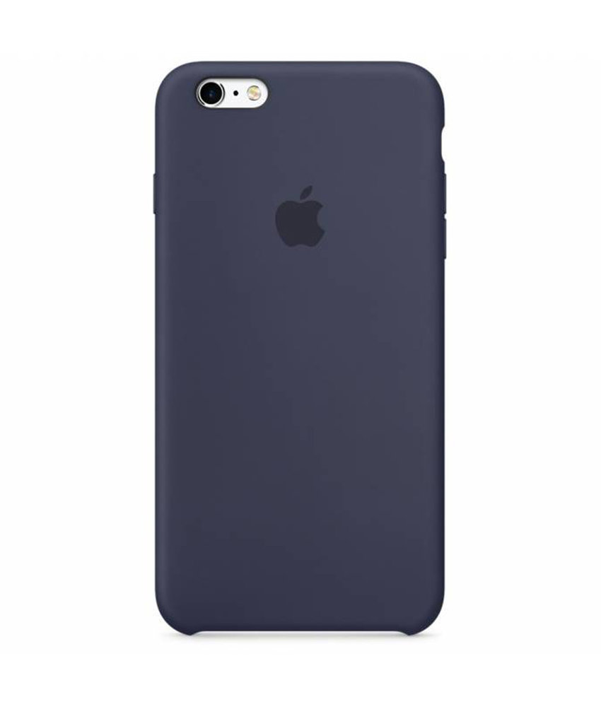 Apple Silicone Backcover iPhone 6 / 6s - Blauw