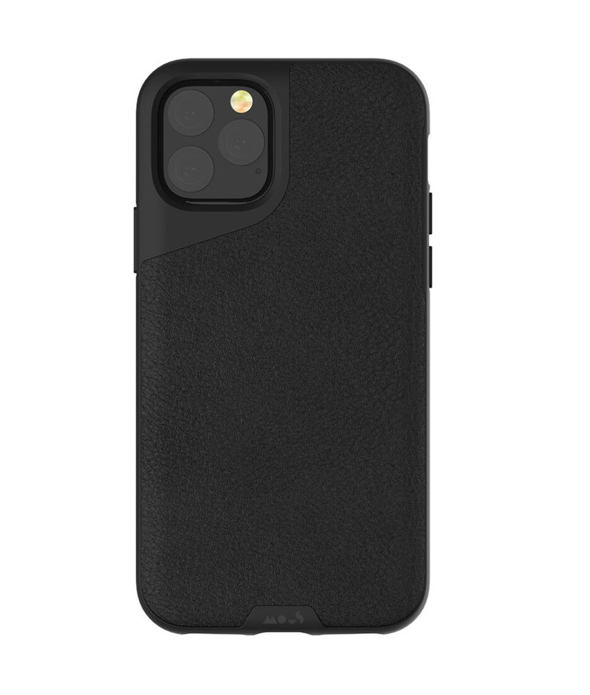 Mous Contour Backcover iPhone 11 Pro Max - Zwart