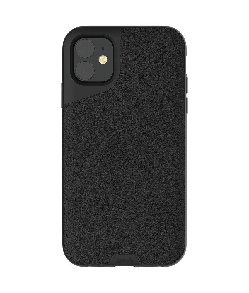 Mous Contour Backcover iPhone 11 - Zwart