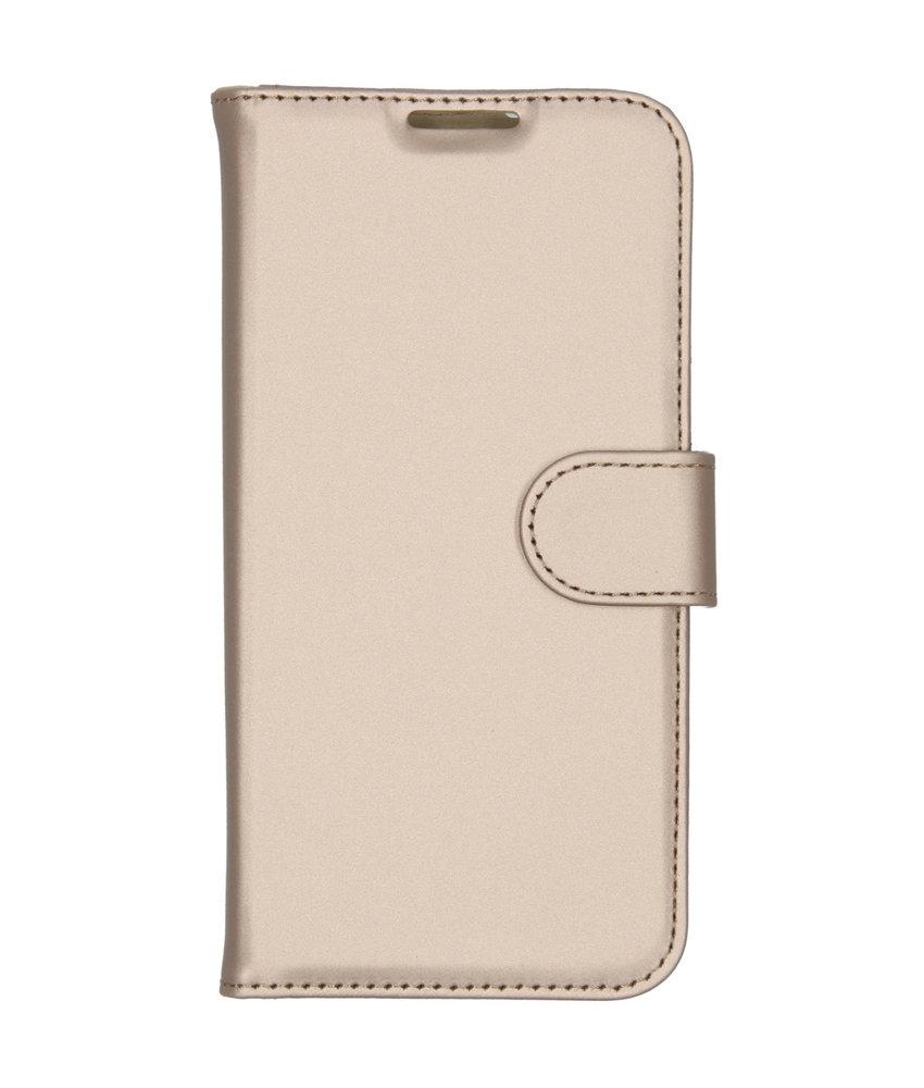 Accezz Wallet Softcase Booktype Nokia 2.2 - Goud