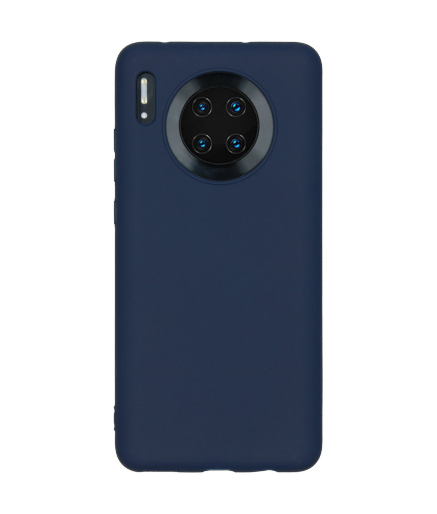 iMoshion Color Backcover Huawei Mate 30 - Donkerblauw