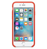 Apple Silicone Backcover voor iPhone 6 / 6s - Oranje
