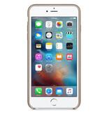 Apple Leather Backcover voor de iPhone 6(s) Plus - Grijs