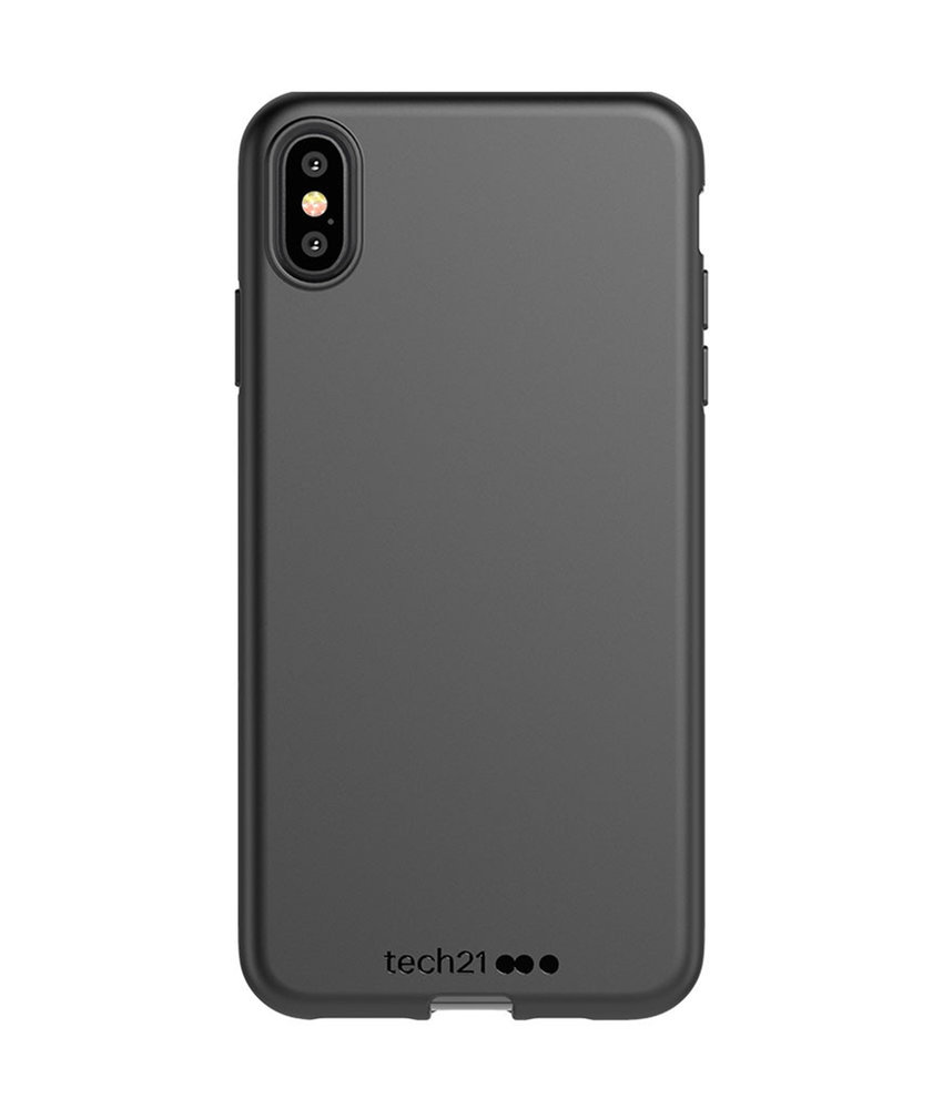 Studio Colour Antimicrobial Backcover iPhone Xs Max - Black of Black