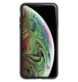 Studio Colour Antimicrobial Backcover voor de iPhone Xs Max - Black of Black