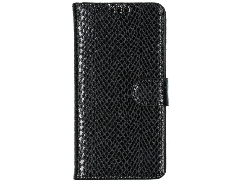 iPhone 11 hoesje - Slangenprint Booktype voor de