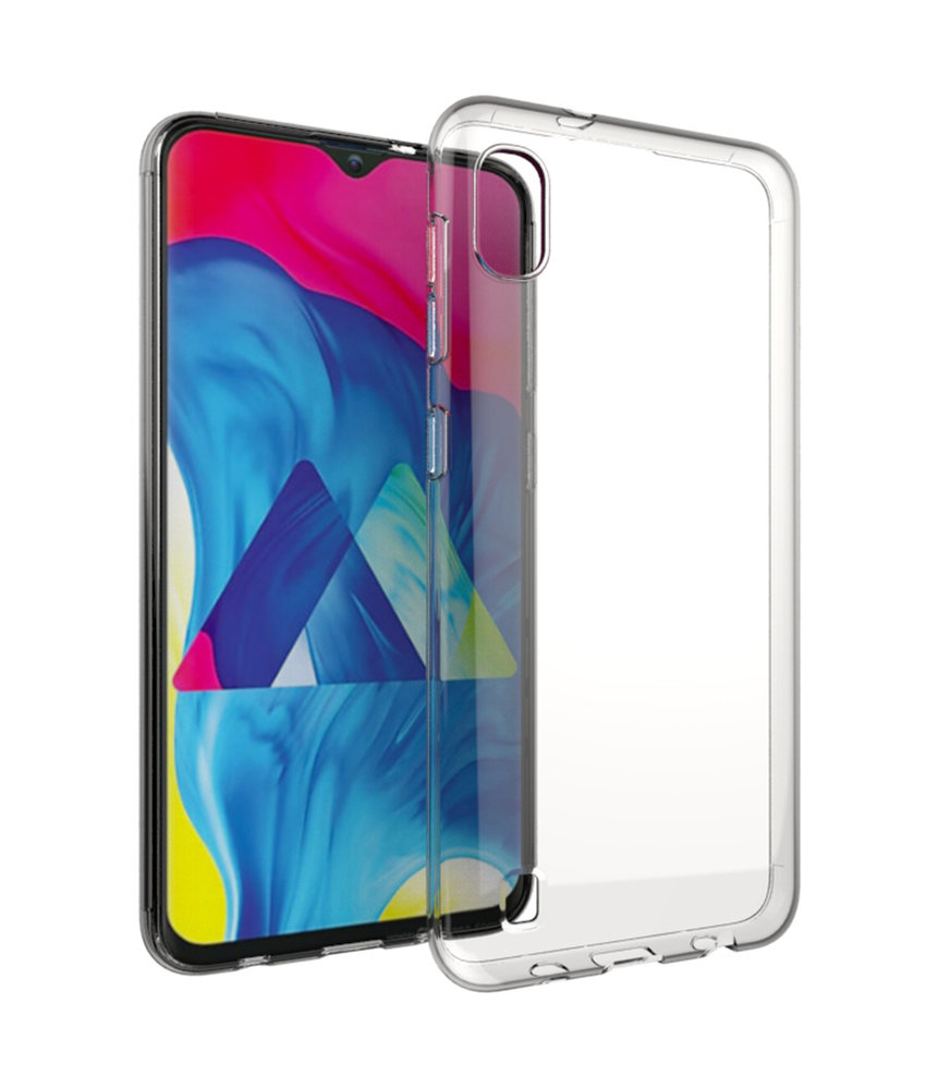Accezz Clear Backcover Samsung Galaxy A10 - Transparant