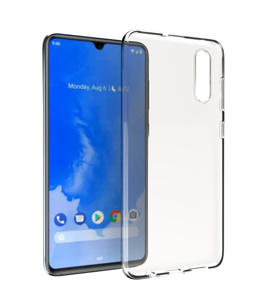 Accezz Clear Backcover Samsung Galaxy A70 - Transparant