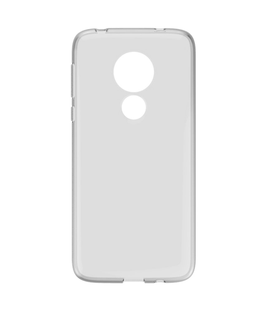 Accezz Clear Backcover Motorola G7 Power - Transparant