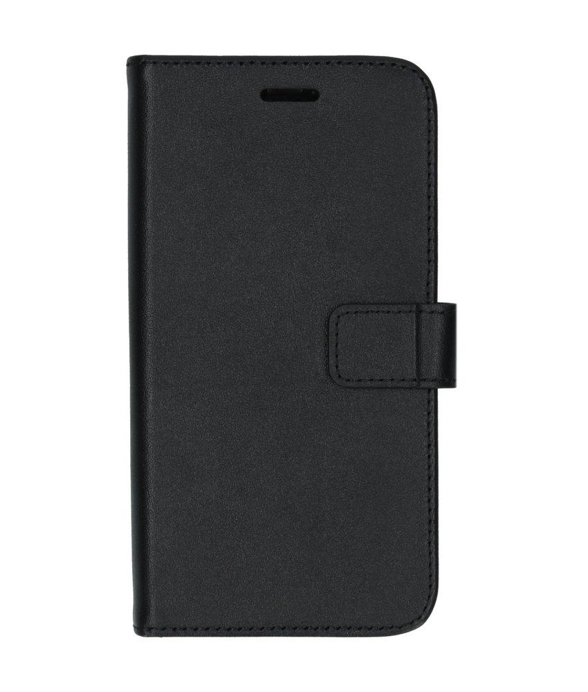 Valenta Leather Booktype iPhone 11 Pro - Zwart