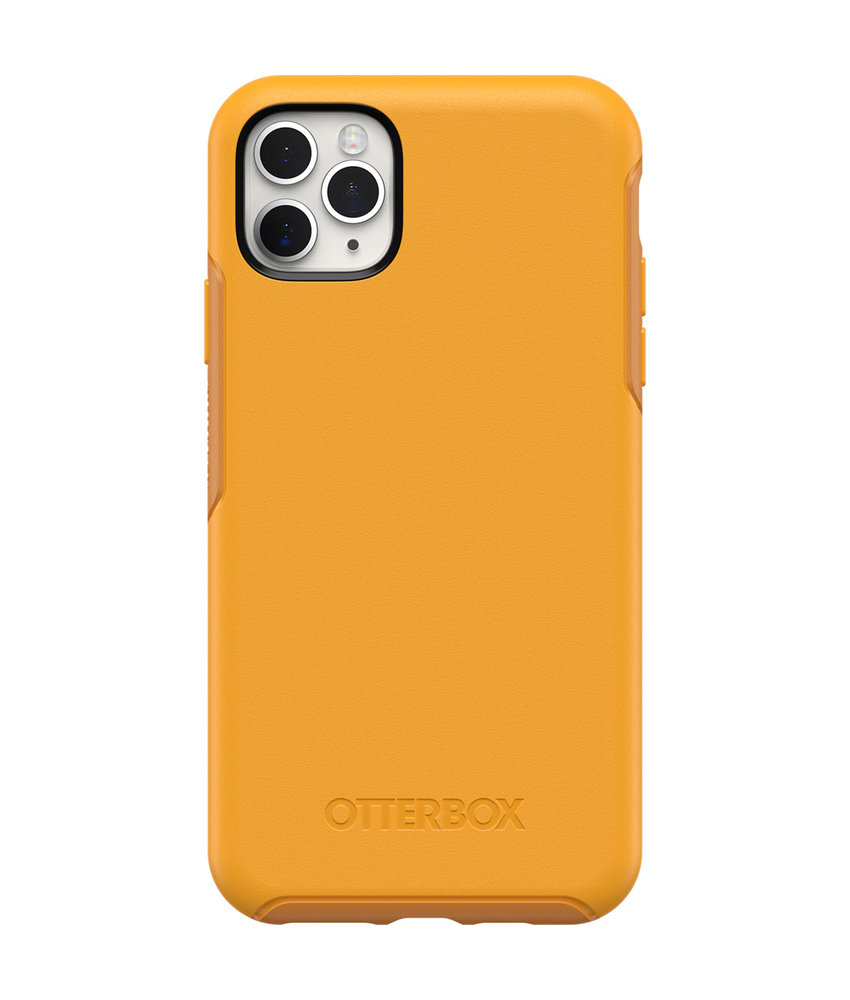 OtterBox Symmetry Backcover iPhone 11 Pro Max - Geel