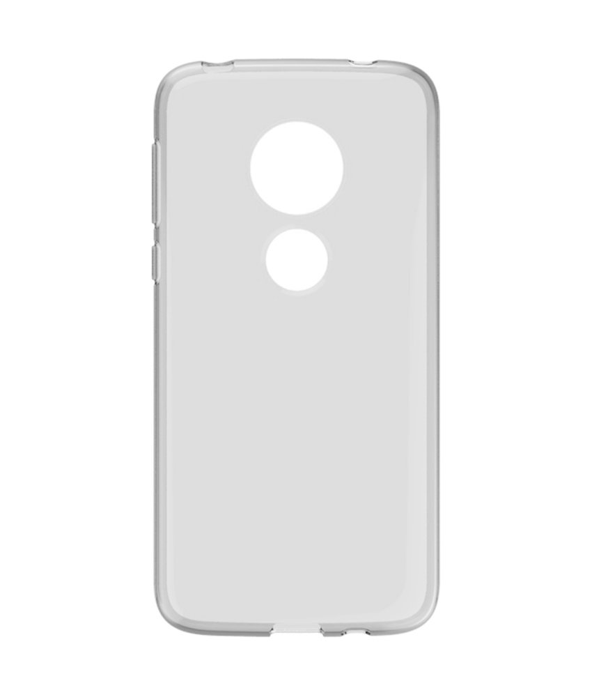 Accezz Clear Backcover Motorola Moto G7 Play - Transparant