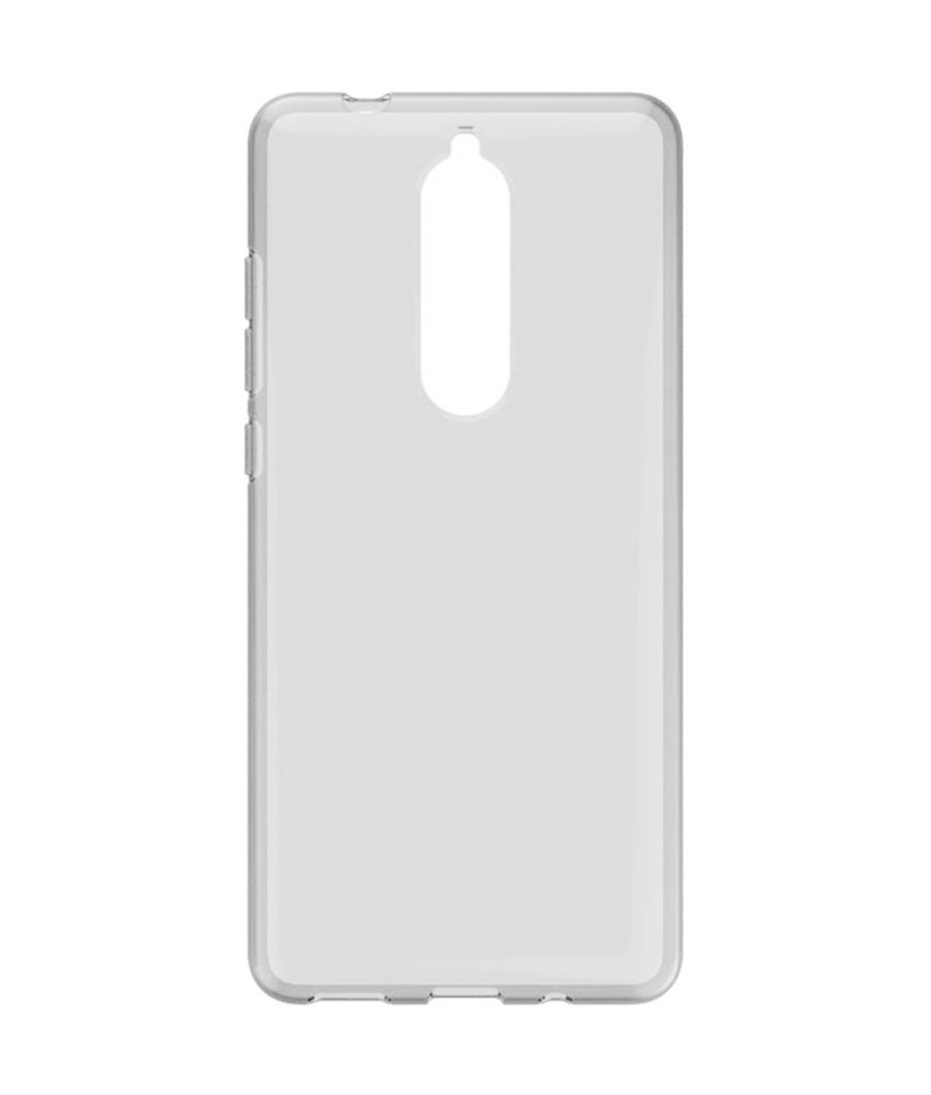 Accezz Clear Backcover Nokia 5.1