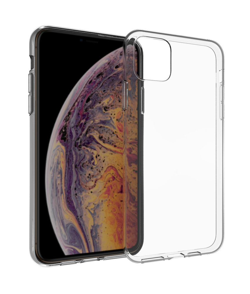 Accezz Clear Backcover iPhone 11 Pro - Transparant