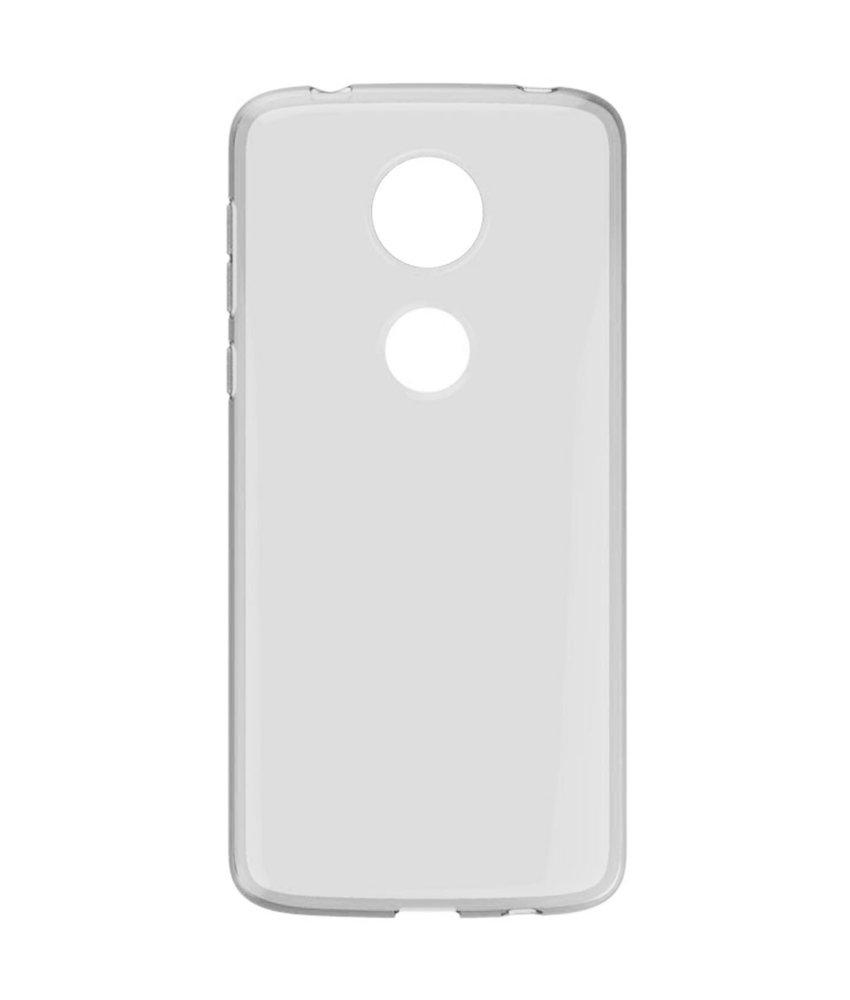 Accezz Clear Backcover Motorola Moto E5 Plus