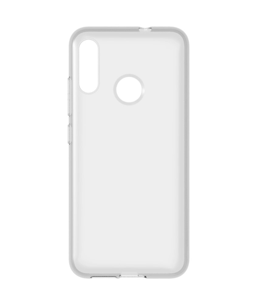 Accezz Clear Backcover Motorola Moto E6 Plus - Transparant