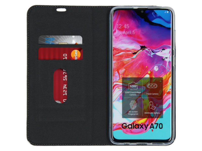 Samsung Galaxy A70 hoesje - Design Softcase Booktype voor