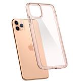 Spigen Ultra Hybrid Backcover voor de iPhone 11 Pro Max - Roze