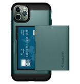 iPhone 11 Pro Max hoesje - Spigen Slim Armor CS