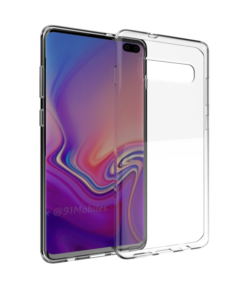 Accezz Clear Backcover Samsung Galaxy S10 Plus