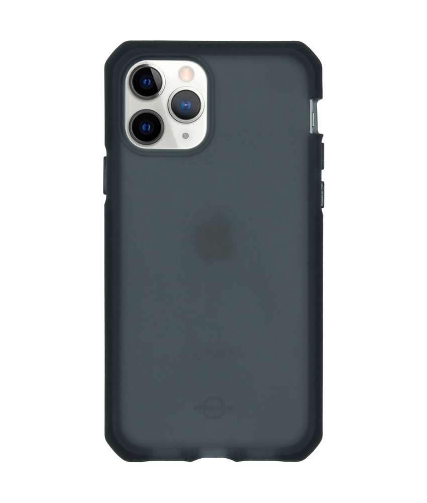 Itskins Supreme Frost Backcover iPhone 11 Pro - Donkergrijs