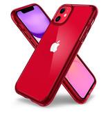 Spigen Ultra Hybrid Backcover voor de iPhone 11 - Rood