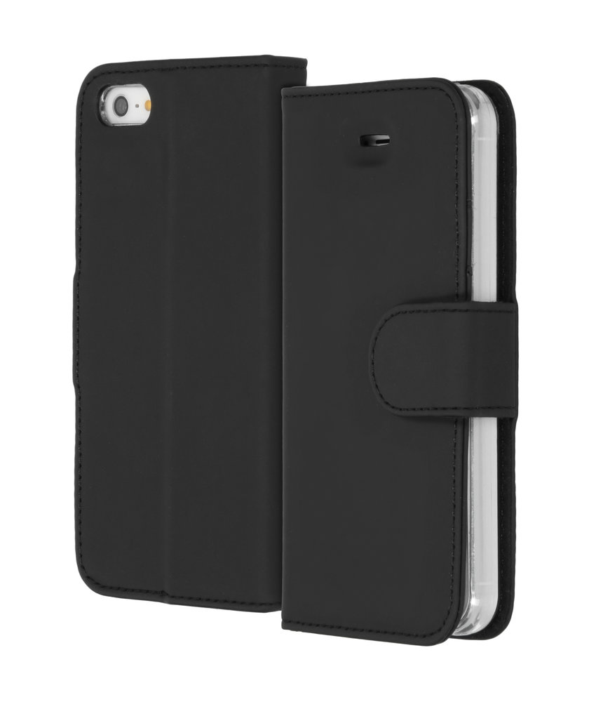 Accezz Wallet Softcase Booktype iPhone SE / 5 / 5s