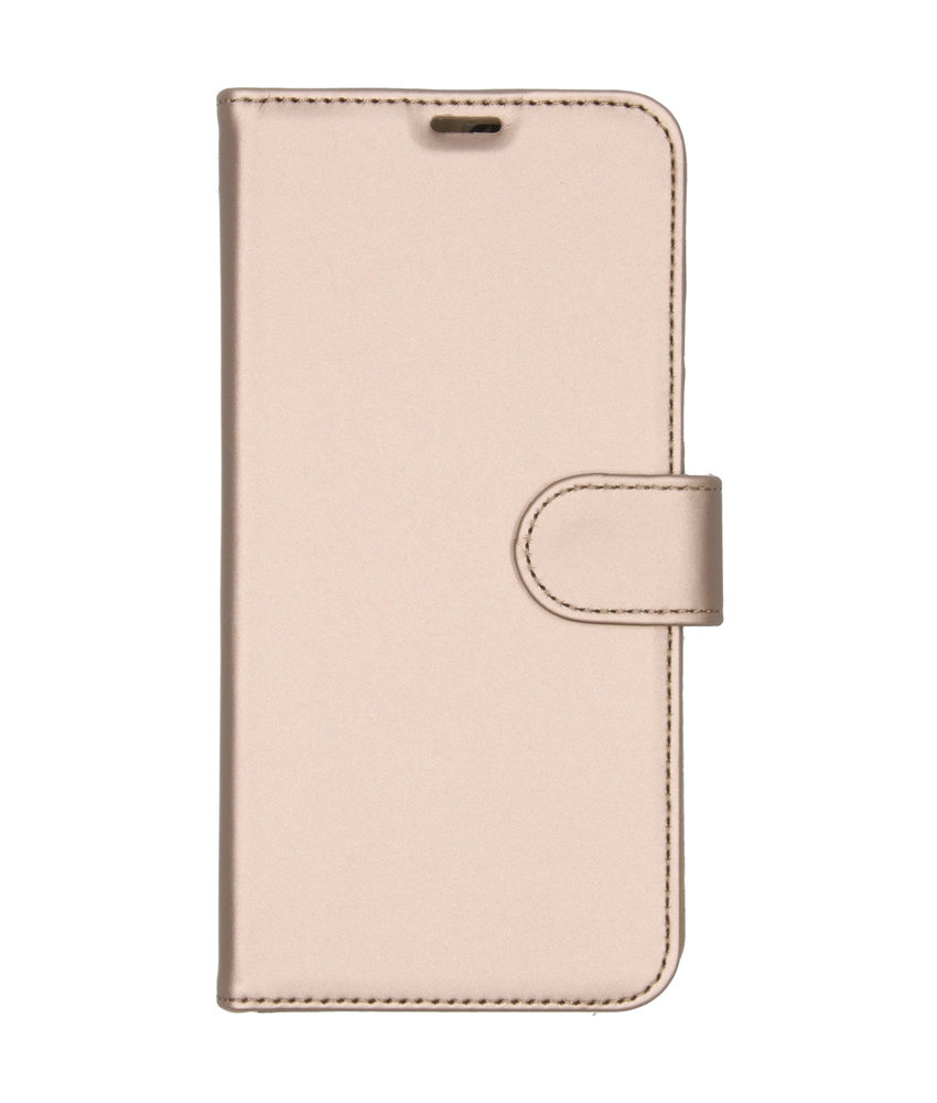 Accezz Wallet Softcase Booktype Samsung Galaxy A10 - Goud