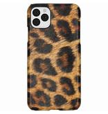 Luipaard Design Backcover voor de iPhone 11 Pro Max - Bruin