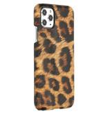 iPhone 11 Pro Max hoesje - Luipaard Design Backcover voor