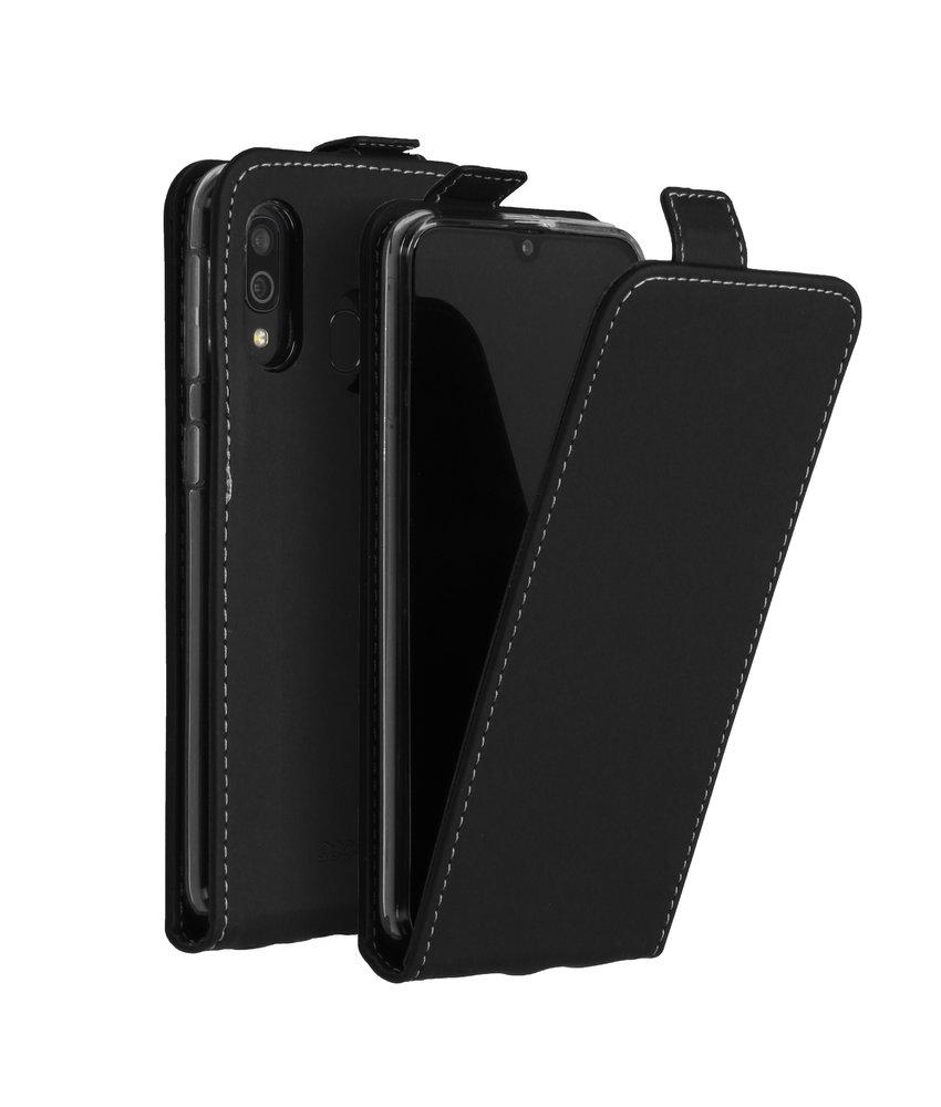 Accezz Flipcase Samsung Galaxy A40 - Zwart