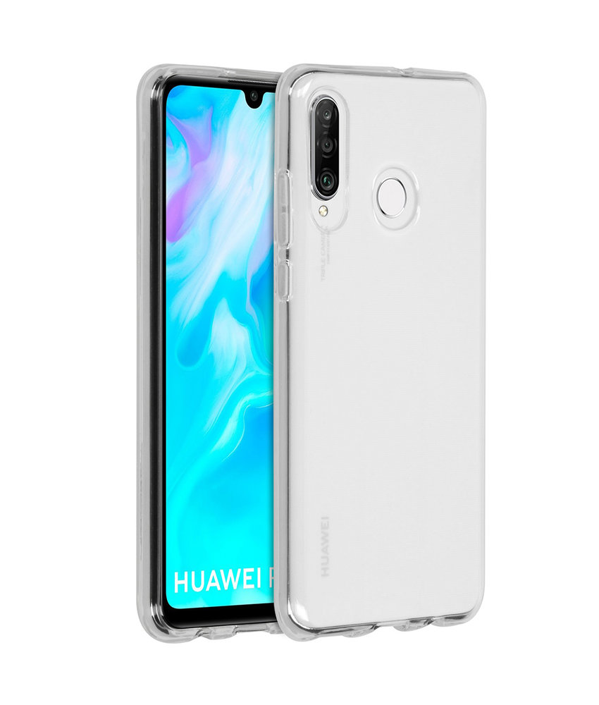 Accezz Clear Backcover Huawei P30 Lite - Transparant