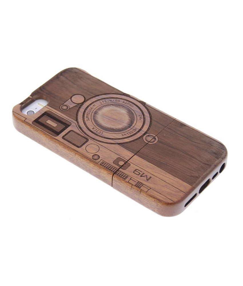 Houten Backcover iPhone SE / 5 / 5s