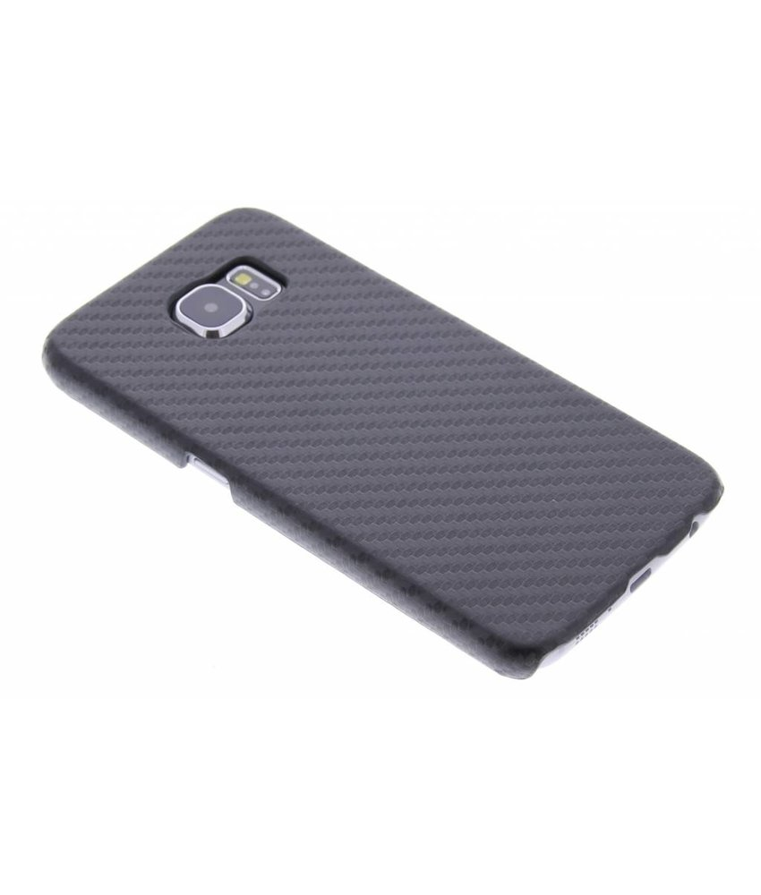 Carbon Hardcase Backcover Samsung Galaxy S6
