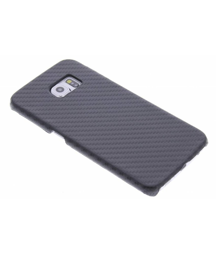 Carbon Hardcase Backcover Samsung Galaxy S6 Edge