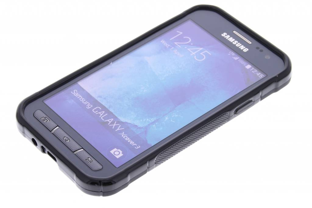 wholesale dealer 367b3 3fe9e S-line Backcover voor Samsung Galaxy Xcover 3 - Zwart