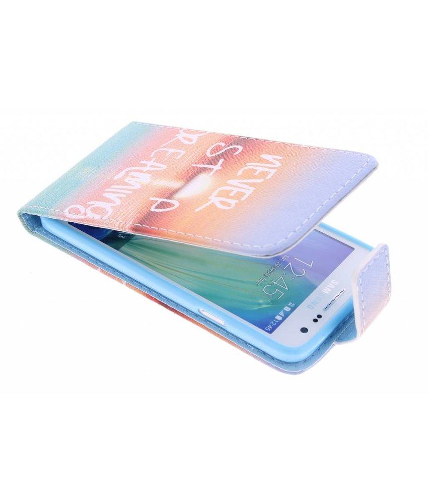 Design Flipcase Samsung Galaxy A3