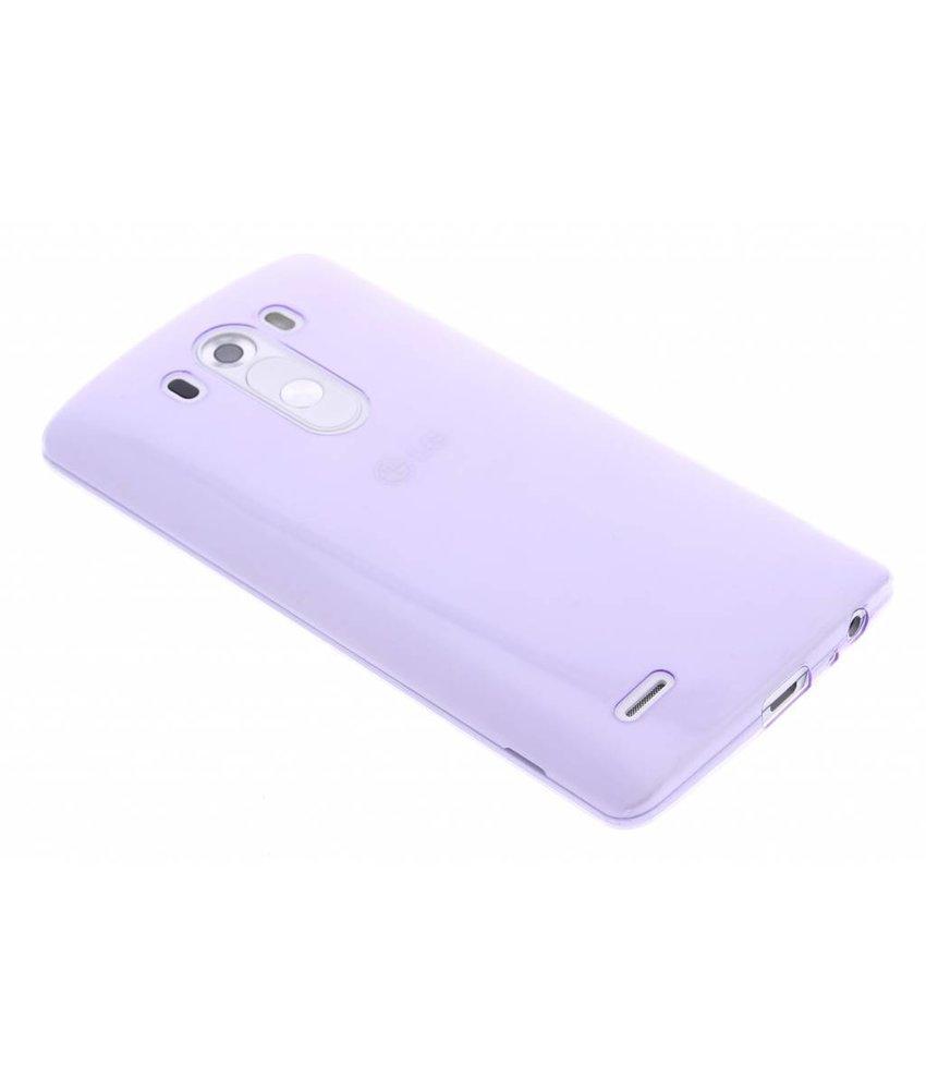 Ultra Thin Transparant Backcover LG G3
