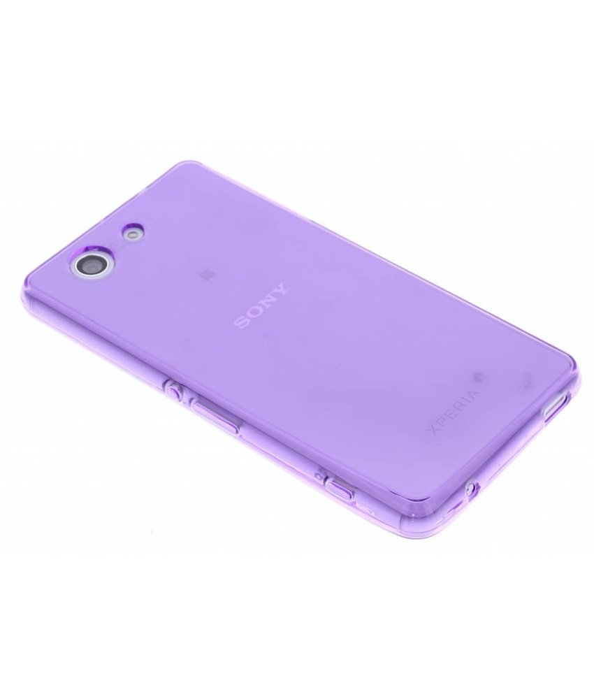 Softcase Backcover Sony Xperia Z3 Compact